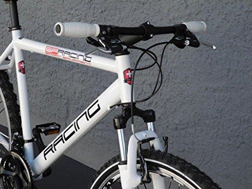 28 Mountain Bike MTB Trekking Bike Fitness Crosser bianco
