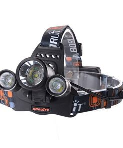 6000LM 3x CREE XM-L T6 LED Frontale Luce faro lampada Testa Headlight Headlamp + 2pz BATTERIA 18650 Per Outdoor Sport Bici, Ciclismo, Cycling, Hiking, Camping, night rides, Caving expedition LD374
