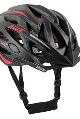 AWE-AeroLite-Casco-bicicletta-58-61-cm-colore-nerorosso-0