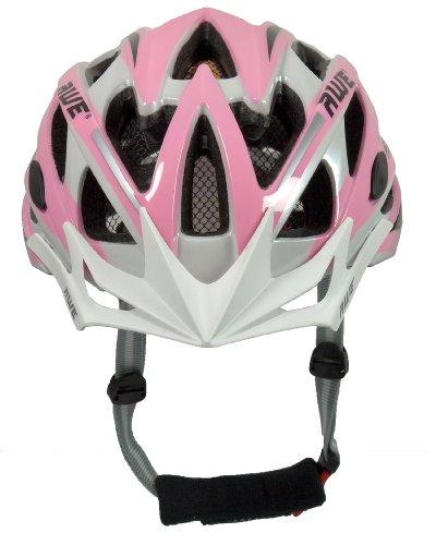 """Vendita""Casco da bicicletta per donna  Awe Rosa/Bianco : fascino  e sicurezza per ogni donna"
