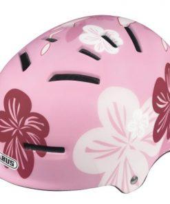 Vendita Casco per bicicletta da donna Abus:  un casco floreale per la passeggiate in città