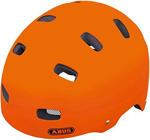 Vendita Casco da ciclismo Abus Arancione:  un pratico e sgargiante casco per bambini
