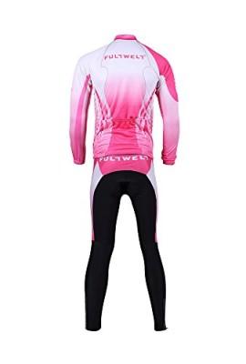 Anself-Abbigliamento-Ciclismo-Set-Sportswear-bici-allaperto-Lunga-Maglia-manica-Pantaloni-lunghi-da-donna-traspirante-0