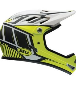 Bell, Casco da ciclismo Sanction, Giallo (Retina Sear Decompressed), 52-56 cm