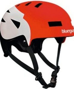 Bluegrass Super Bold - Casco per BMX, modello 2014, circonferenza testa: 56-59 cm, colore: Rosso/Nero/Bianco
