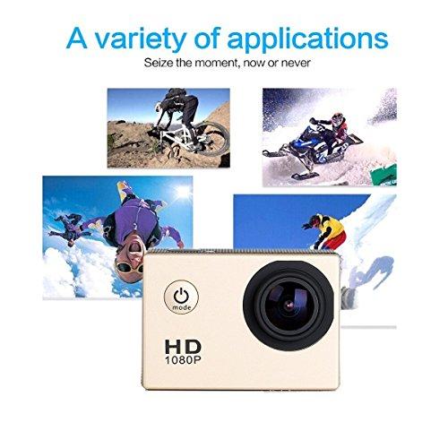 CS720 1080P Sport fotocamera HD impermeabile Action Camera 170 gradi grandangolare DV Recorder auto Diving Helmet Camera