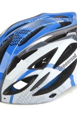Casco-Bici-MTB-Ciclismo-Adulto-Regolabile-Prof-Blu-L-con-Visiera-Regolatore-0