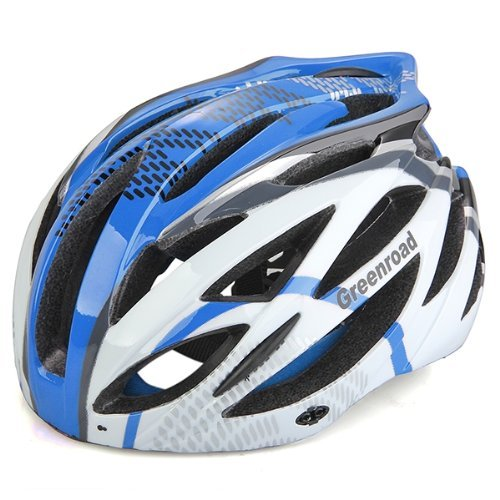 Casco Bici MTB Ciclismo Adulto Regolabile Prof Blu L con Visiera Regolatore