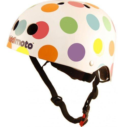 Casco-da-Bambini-Kiddimoto-Pois-Color-Pastello-0