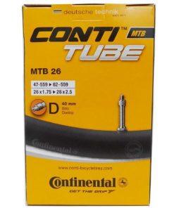 Continental Schlauch MTB 26 Camera Aria Per Bici (SV42)