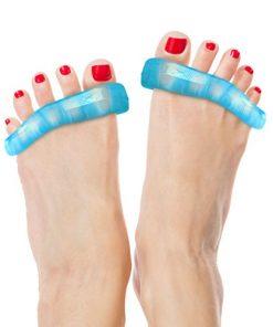 DenadaDance - Supporto in silicone per piedi, per alleviare dolori dovuti a fascite plantare, dita a martello, alluce valgo. Il supporto raddrizza / separa le dita riducendo il dolore ai vostri piedi. Perfetto dopo attività sportive, Ballet, danza o yoga. Una garanzia a vita per i vostri piedi