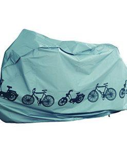 Filmer - Coperta per bicicletta, 110 x 185 cm, colore: Argento