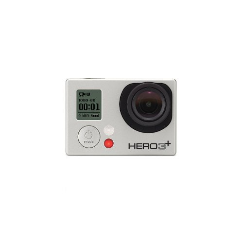GoPro HERO3+ Silver Edition Videocamera 10 MP, 1080p/60 fps, 720p/120 fps, Wi-Fi