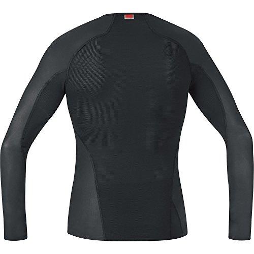 Jeff Green, maglietta intima sportiva stile polo a maniche lunghe Donna Azure
