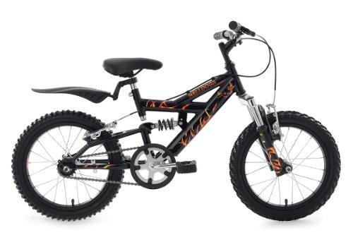 """"""" Vendita""""  Mountain Bike bambini  KS Cycling, Helldogs RH 28 cm, 16"""":  La bici che tutti I bambini vorrebbero."""