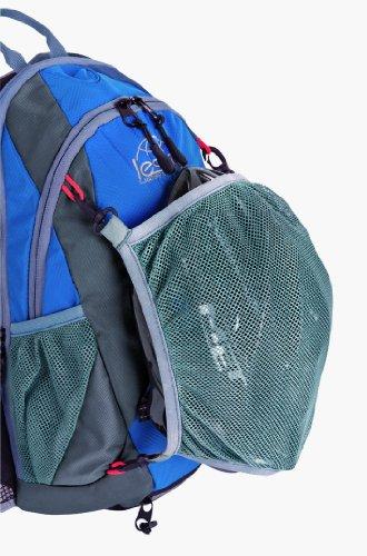 Lestra - Zaino da ciclismo con sacco idrico, 10 + 3 litri, colore: Blu/Antracite