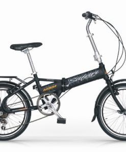 MBM SAFARI 20'' BICICLETTA PIEGHEVOLE FOLDING BIKE NERO 6S
