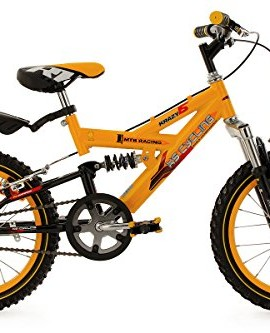 Mountainbike-bambino-16-Krazy-gialla-28-cm-KS-Cycling-0