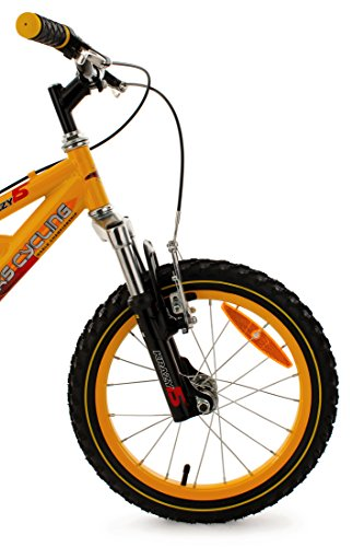 Vendita Bicicletta bambino  KS Cycling 16'' Krazy gialla: il regalo perfetto per il tuo bambino