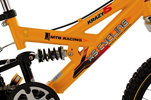 """Vendita""Mountainbike da bambino Ks Cycling 18'' Krazy gialla : divertimento in mountain bike fin da bambini"