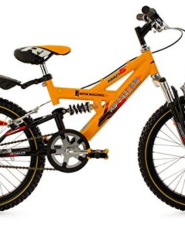 Mountainbike-da-bambino-18-Krazy-gialla-30-cm-KS-Cycling-0