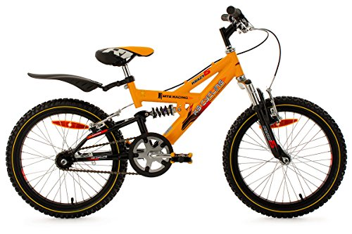 """Vendita""Mountainbike da bambino Ks Cycling 18'' Krazy gialla : divertimento in mountain bike fin da bambini"