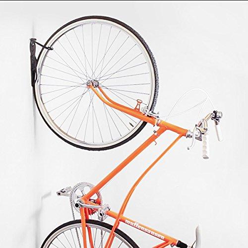 Portabici porta bicicletta supporto gancio staffa a muro appendi bici 2pz