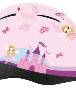 Vendita Casco da bicicletta per bambina Profex : un casco rosa e tutto disegnato sogno di tutte le bambine