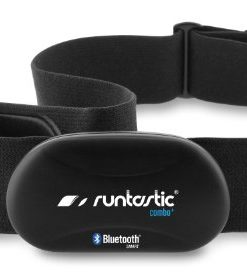 Runtastic RUNBT1 Heart Rate Combo Monitor, Fascia Cardio Bluetooth Smart, Nero