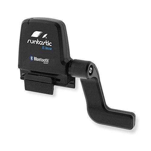 Runtastic Sensore di Velocità e Cadenza Bluetooth per Smartphone, Nero