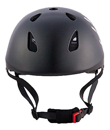 """Sport DirectTM Skate BMX """"La Mano""""  Casco Nero ciclo biciclette 57-59 centimetri"""