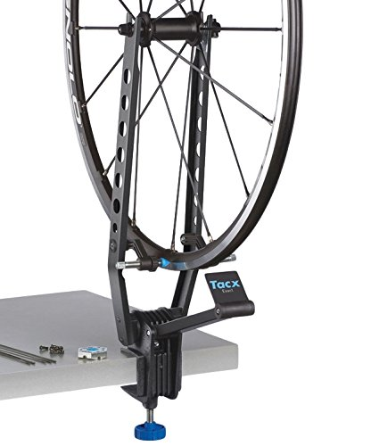 Tacx Exact Wheel Truing Stand Centraruote Professionale, Nero