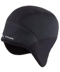 Vaude - Windproof Cap III, cuffia antivento da bici Nero nero l