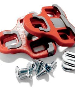 VeloChampion Tacchette per Look Keo Grip con flottaggio di 6 gradi, Rosso - Pedal / Shoe Cleats