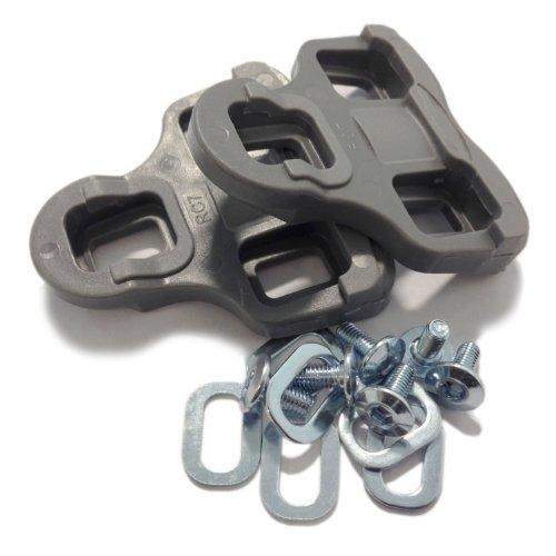 VeloChampion Tacchette per Look Keo Grip con flottaggio di 9 gradi, grigio - Pedal / Shoe Cleats