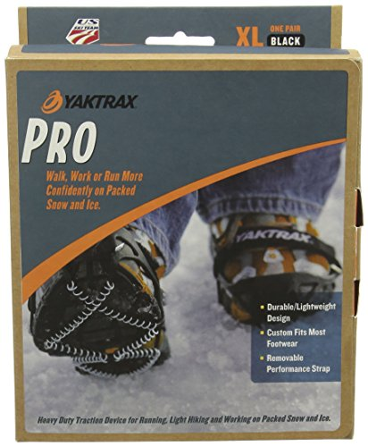 Yaktrax Pro, Catene da neve per scarpe