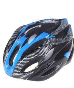 Casco casco bicicletta protettivo di riciclaggio di sport della bici con la visiera in fibra di carbonio per adulti