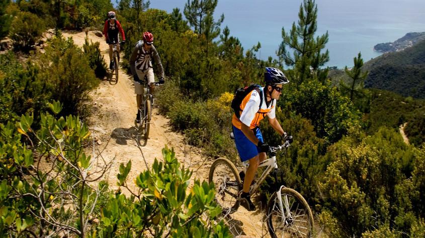 percorsi mountain bike liguria