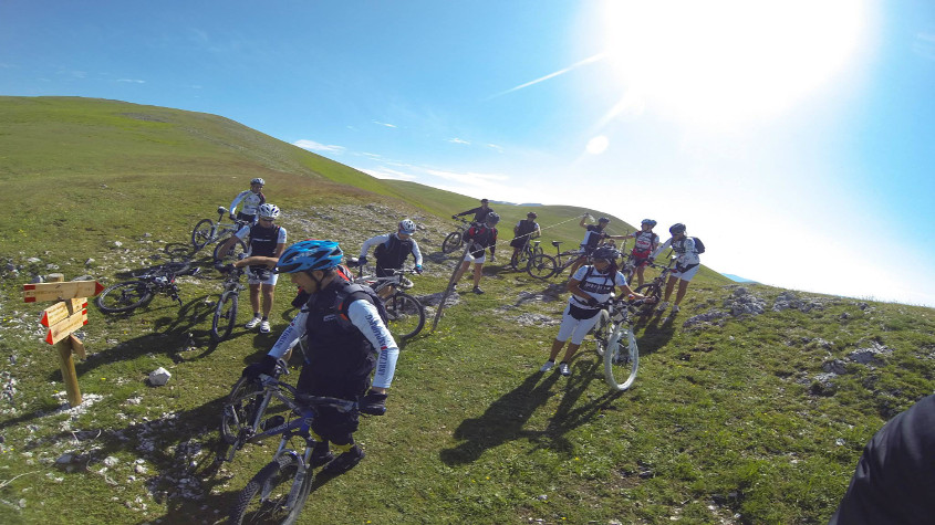 percorsi mountain bike molise
