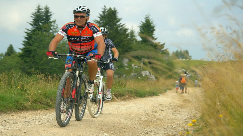 percorsi mountain bike veneto