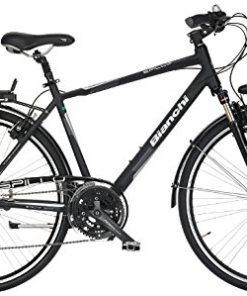 """City Bike 28"""" Bianchi Spillo Topazio Uomo 24V BlackMatt/ck"""