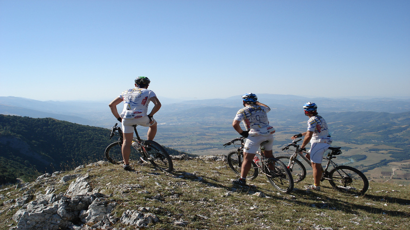 percorsi mountainbike umbria