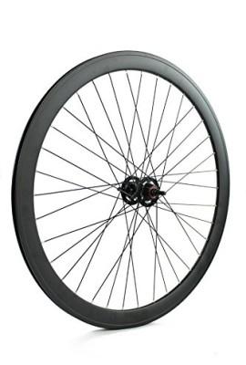 RIDEWILL-BIKE-Ruota-posteriore-scatto-fisso-pista-profilo-43mm-nero-opaco-Scatto-Fisso-Rear-single-speed-wheel-rim-height-43mm-matt-black-Fixed-Wheel-0